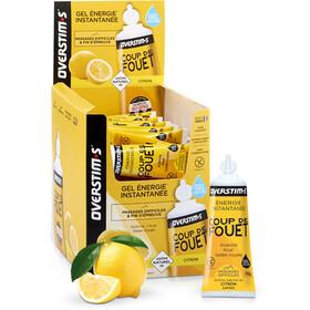 OVERSTIM.s Coup de Fouet Żele energetyczne - opakowanie 36x30g, Lemon